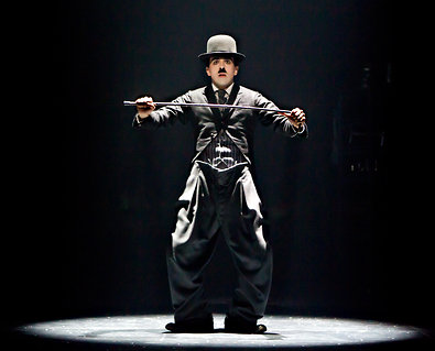 chaplin the musical, charles chaplin, a broadway é aqui