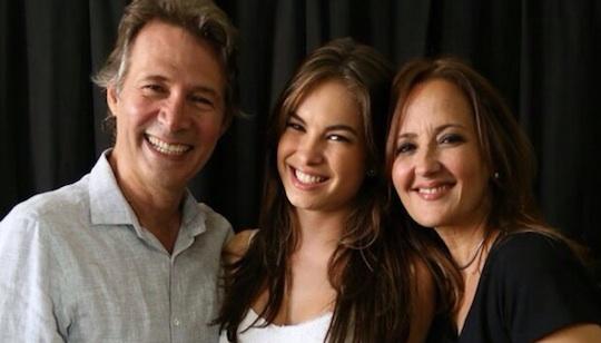 Nelson Freitas (Claudio), Lua Blanco (Bia) e Cláudia Netto (Helena) - Foto: Reprodução/Instagram