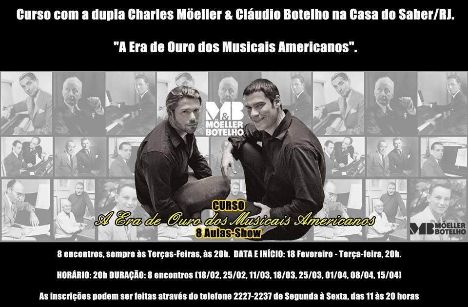 Photo of Musicais americanos são tema de curso ministrado pela dupla Möeller Botelho no RJ