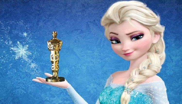 """Photo of """"Frozen"""" brilha em noite do Oscar"""