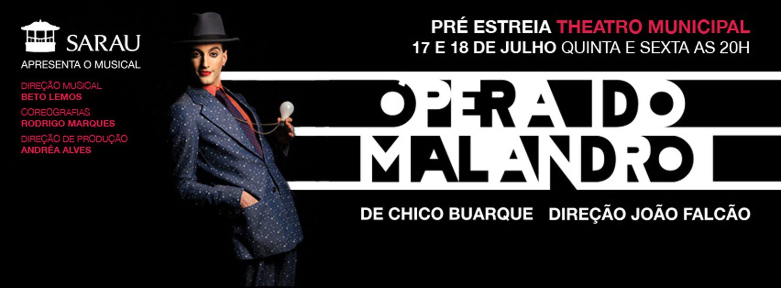 """Photo of Nova montagem de """"Ópera do Malandro"""" estreia no Rio de Janeiro"""