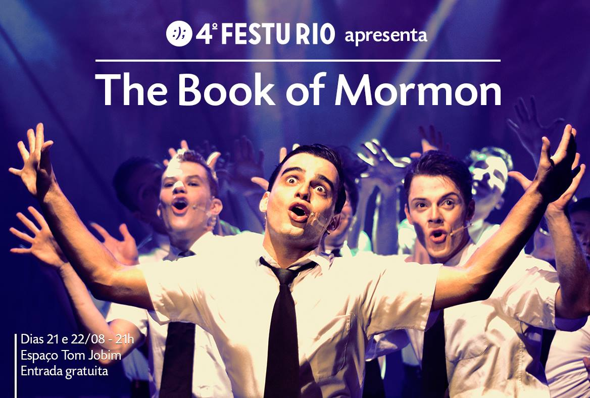 "Photo of ""The Book of Mormon – UNIRIO"" abre 4ª edição do Festival de Teatro Universitário"