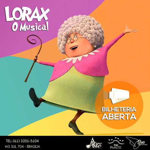 """Photo of Animação """"Lórax"""" ganha versão musical em Brasília"""