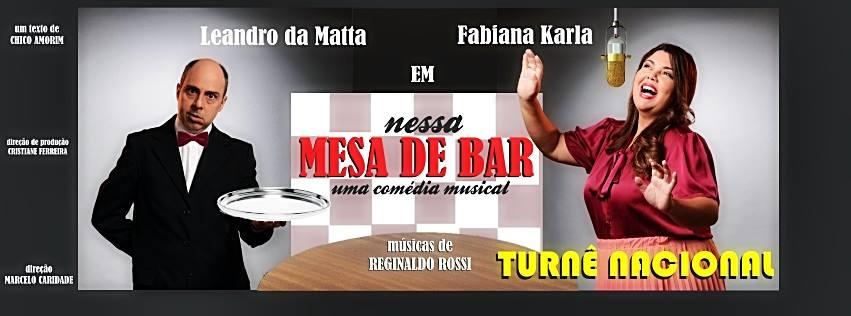 Photo of Fabiana Karla e Leandro da Matta levam musical com canções de Reginaldo Rossi à Recife