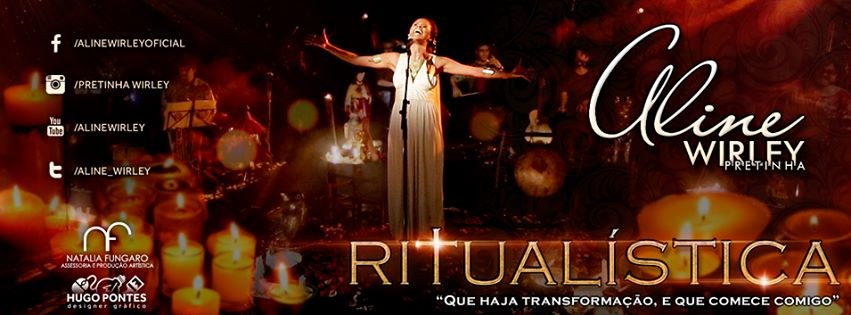 "Photo of Aline Wirley apresenta seu show solo, ""Ritualística"""