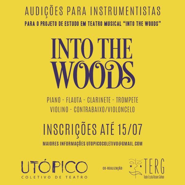 """Photo of Coletivo Utópico abre audição para orquestra de """"Into The Woods"""" no RJ"""