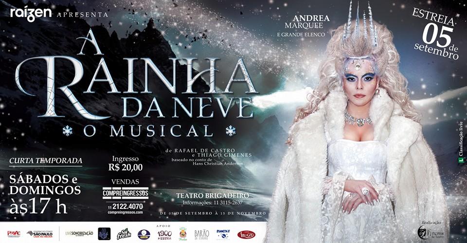 """Photo of Musical """"A Rainha da Neve"""" estreia em São Paulo"""