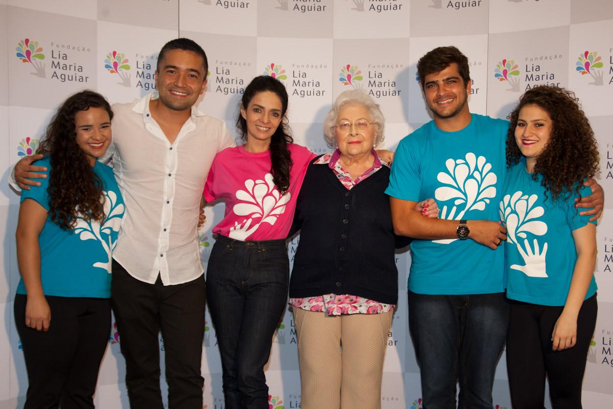Photo of Claudia Ohana e Bernardo Mesquita visitam Fundação Lia Maria Aguiar