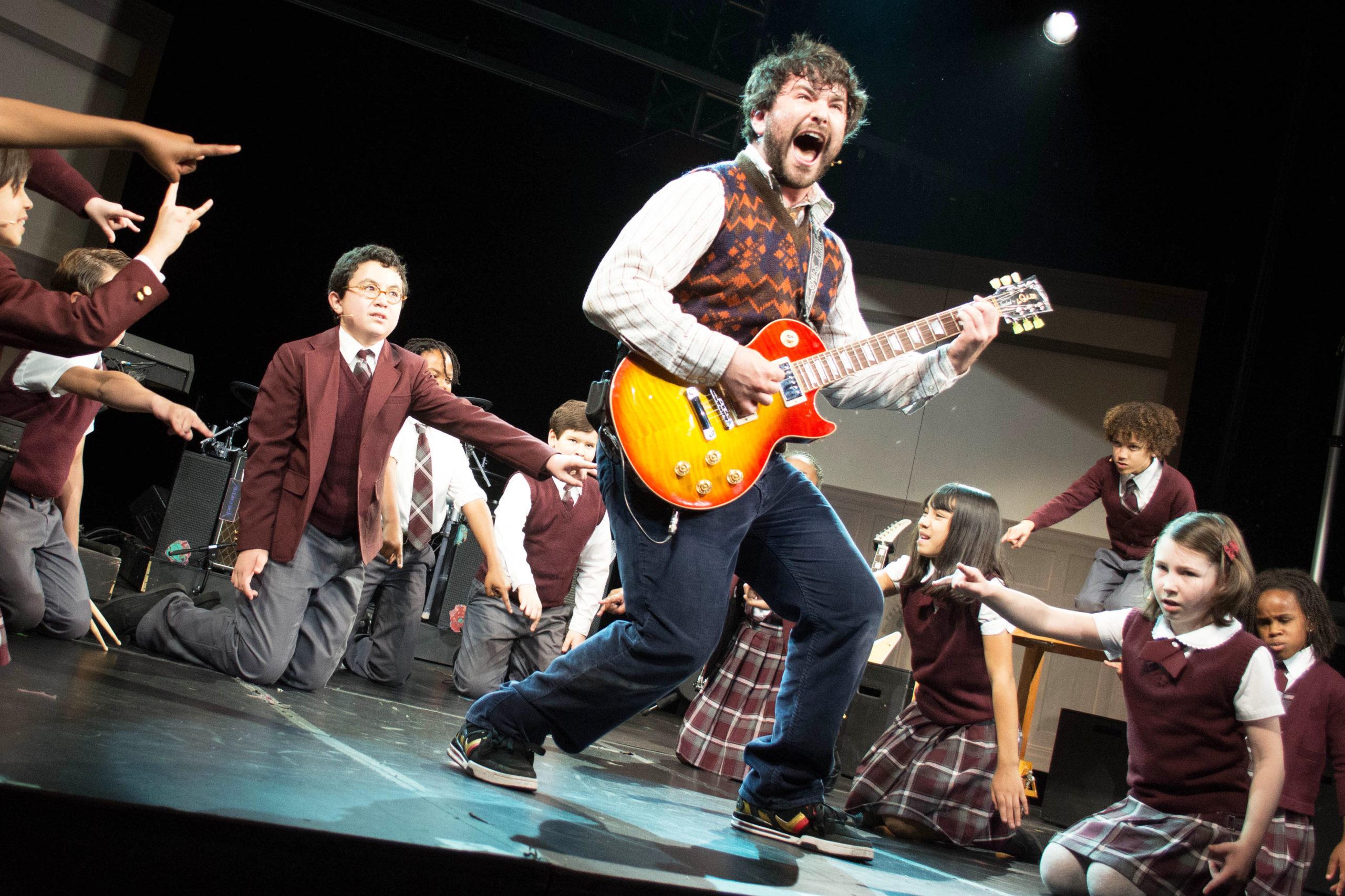 "Photo of ""School of Rock, The Musical"" estreia na Broadway"
