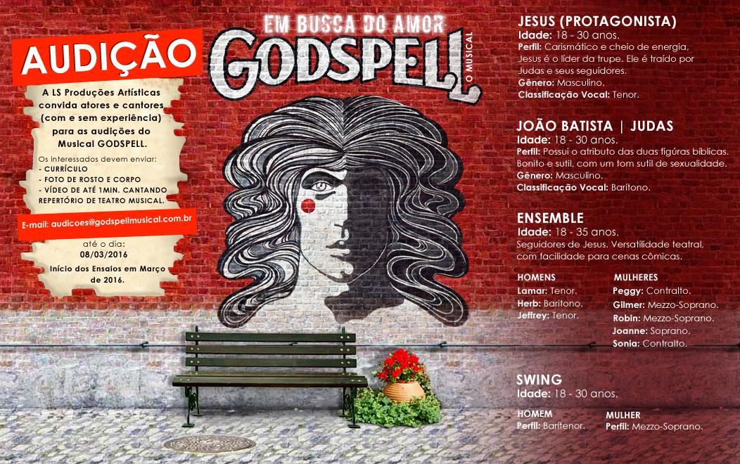 """Photo of Produtora abre audição para montagem de """"Godspell"""" em São Paulo"""