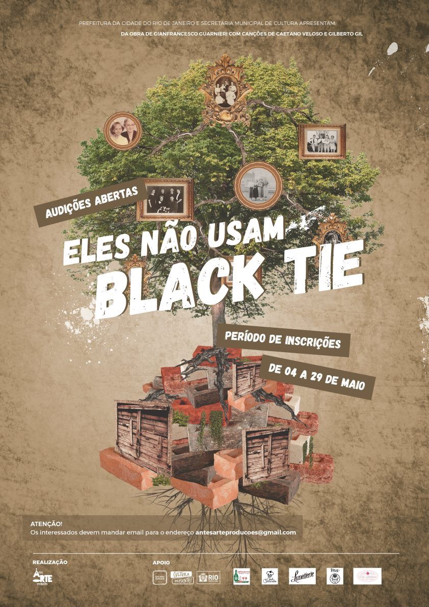"""Photo of Montagem acadêmica de """"Eles Não Usam Black Tie"""" convoca atores para audição"""