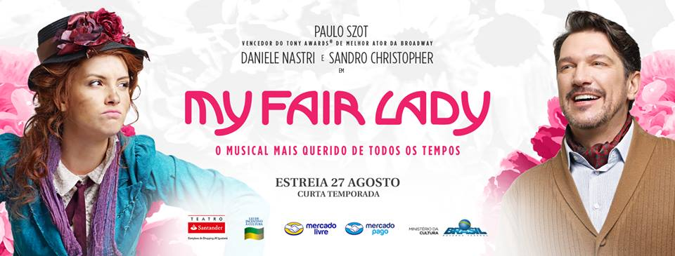 "Photo of ""My Fair Lady"" terá sessão popular em novembro"