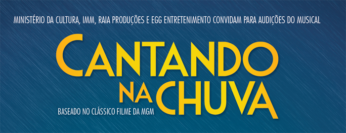 "Photo of Musical ""Cantando na Chuva"" abre audições para 2017"