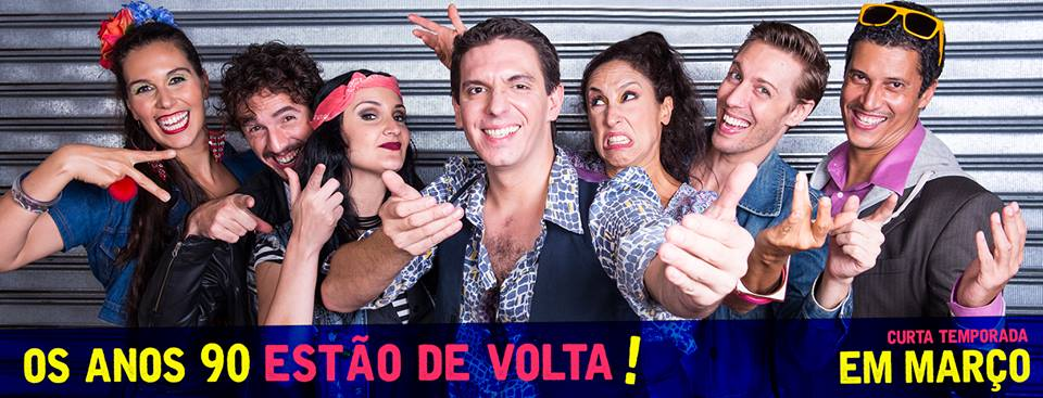 "Photo of Comédia musical ""Na Laje"" relembra sucessos do pagode nos anos 90"