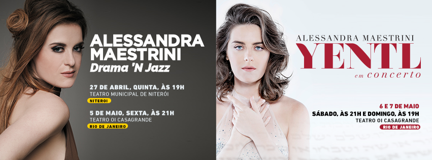 """Photo of Alessandra Maestrini traz """"Yentl em Concerto"""" e """"Drama'N Jazz novamente ao RJ"""