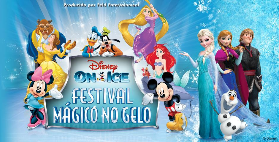 "Photo of ""Disney on Ice – Festival Mágico no Gelo"" chega à SP"