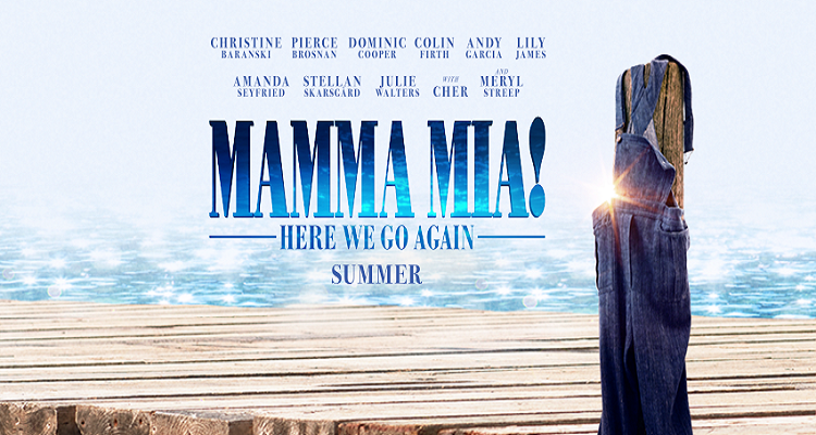 "Photo of Veja o primeiro trailer de ""Mamma Mia – Here We Go Again"""
