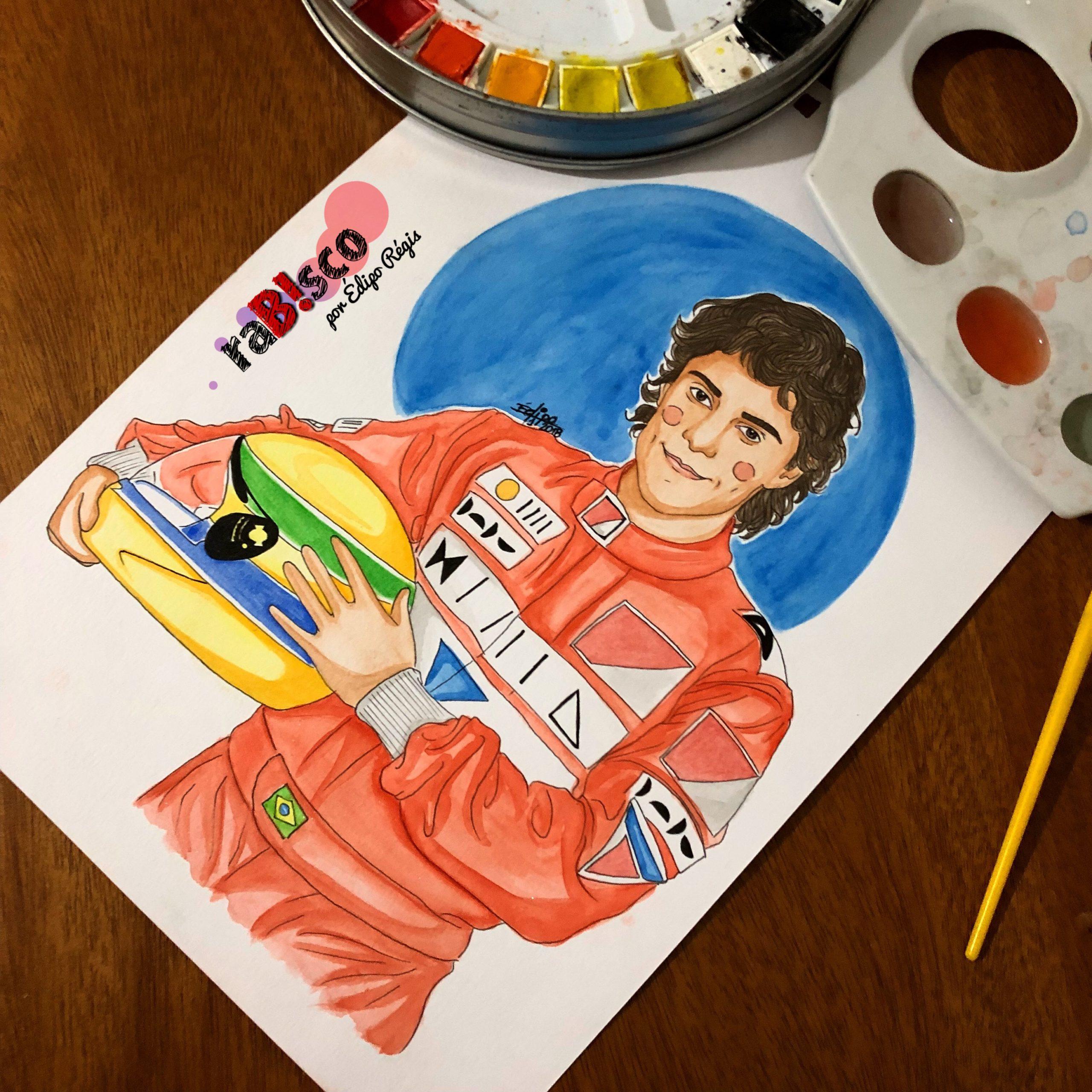 """Photo of raB!sco de """"Ayrton Senna – O Musical"""""""