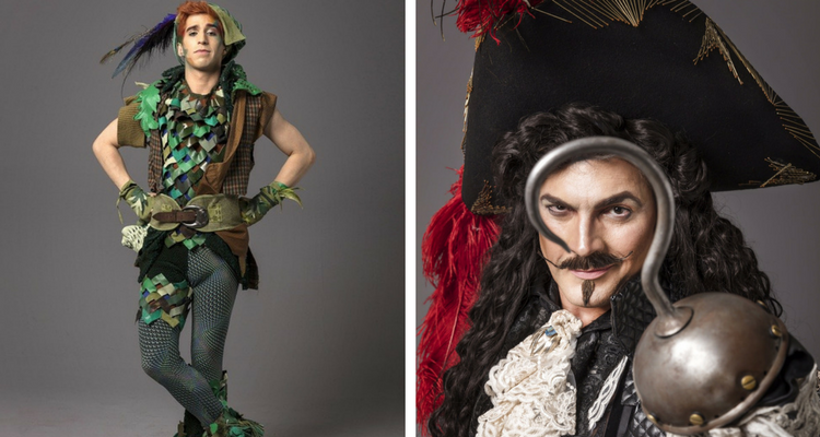 Photo of Veja as primeiras imagens de Mateus Ribeiro e Daniel Boaventura como protagonistas de Peter Pan – O Musical