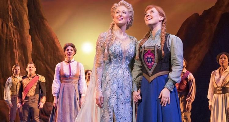 """Photo of Sucesso na Broadway, veja fotos da superprodução """"Frozen"""""""