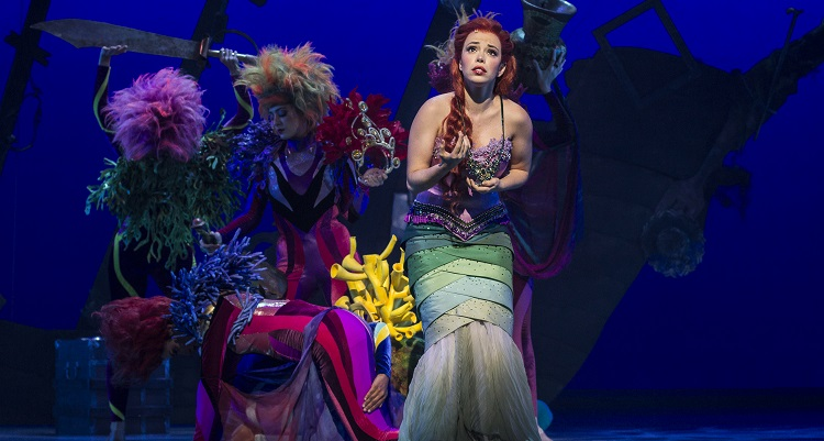 """Photo of Musical """"A Pequena Sereia"""", da Disney, estreia em São Paulo. Veja fotos"""