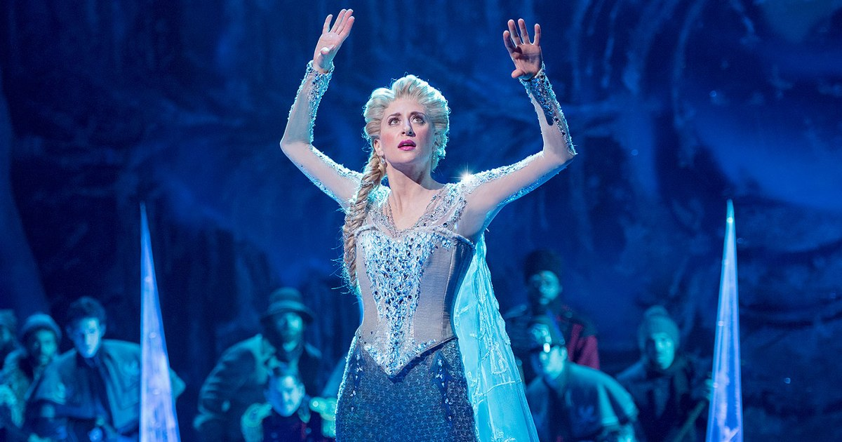 "Photo of Veja a versão da Broadway de ""Let It Go"", do musical Frozen"