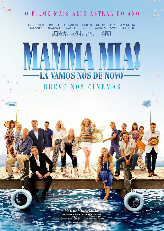 """Photo of Veja o trailer final de  """"Mamma Mia! Lá Vamos Nós de Novo"""""""