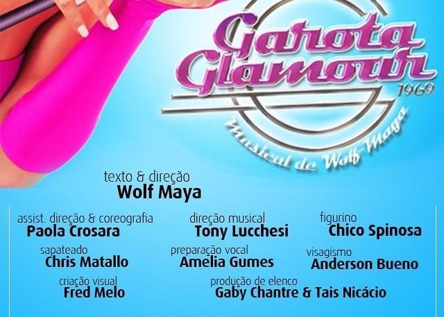 """Photo of Wolf Maya abre audições para nova montagem do musical """"Garota Glamour"""""""