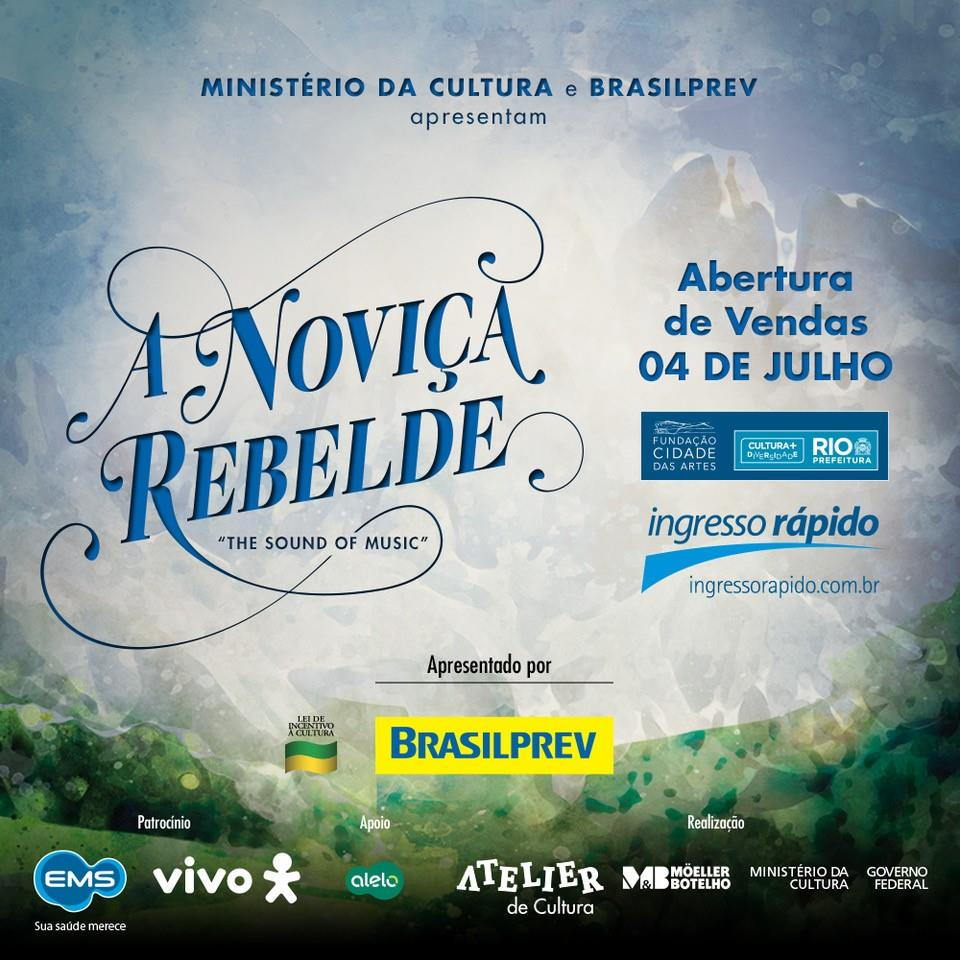 "Photo of Abertas vendas de ingressos para temporada carioca de ""A Noviça Rebelde"""