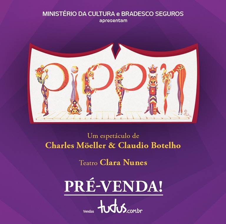 "Photo of Musical ""Pippin"" abre pré-venda de ingressos"