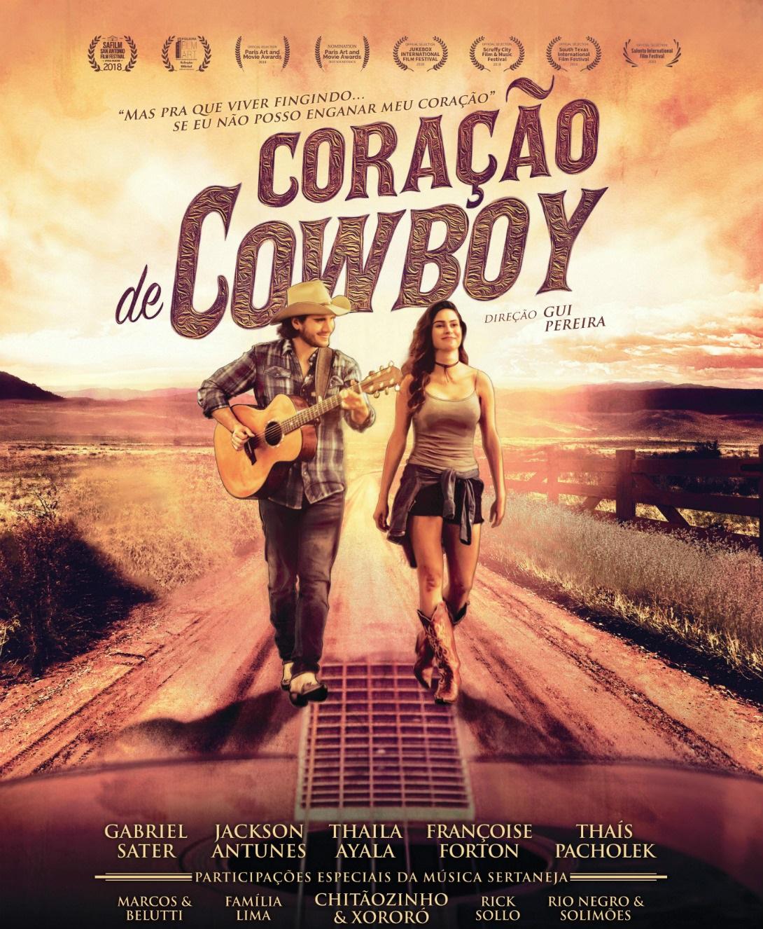 """Photo of Gabriel Sater estrela longa musical """"Coração de Cowboy"""""""