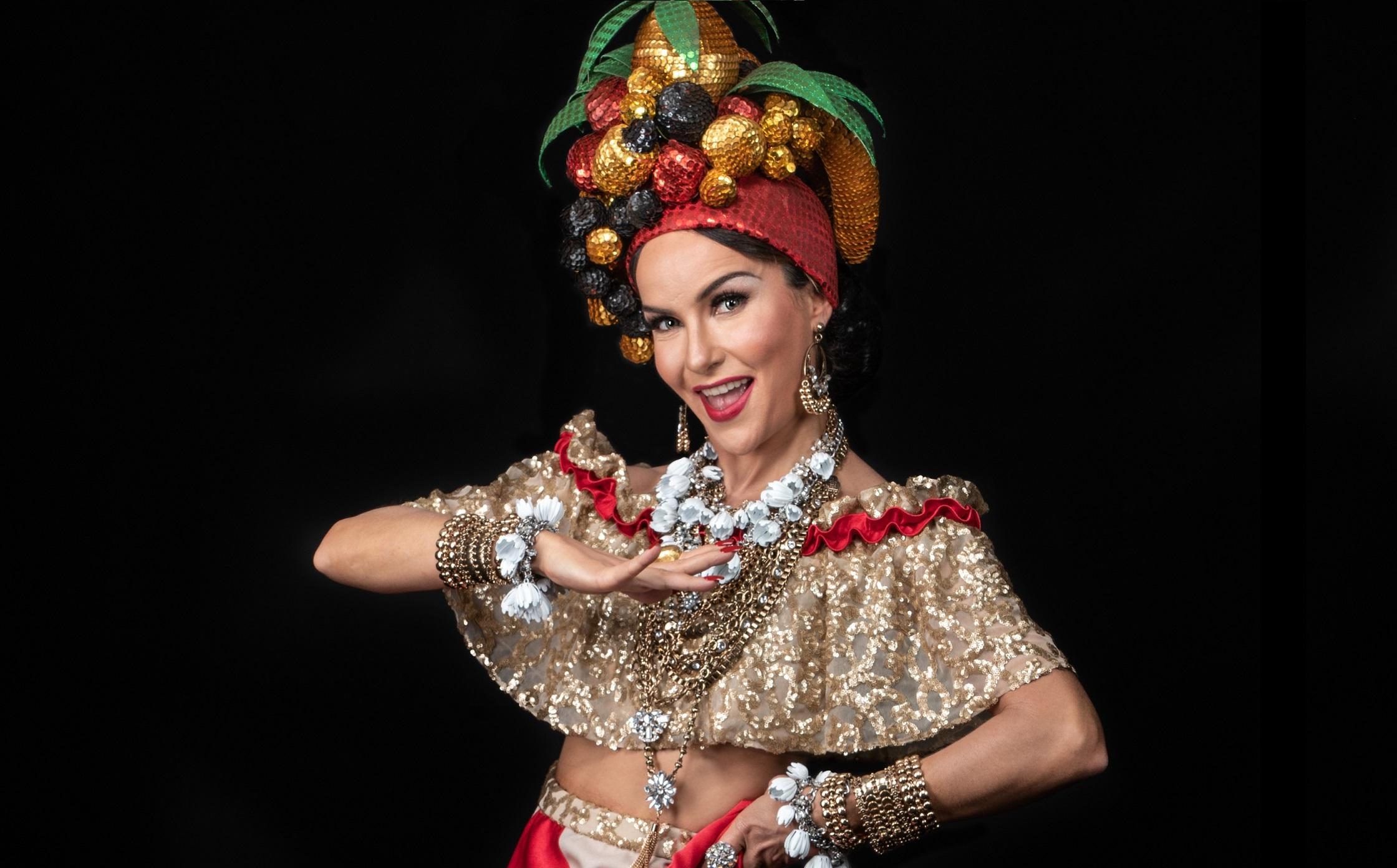 Photo of Amanda Acosta viverá Carmen Miranda em musical