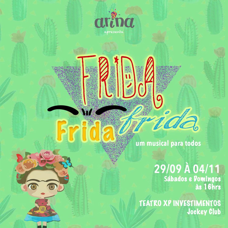 Photo of Frida Kahlo é tema de musical infanto-juvenil no RJ