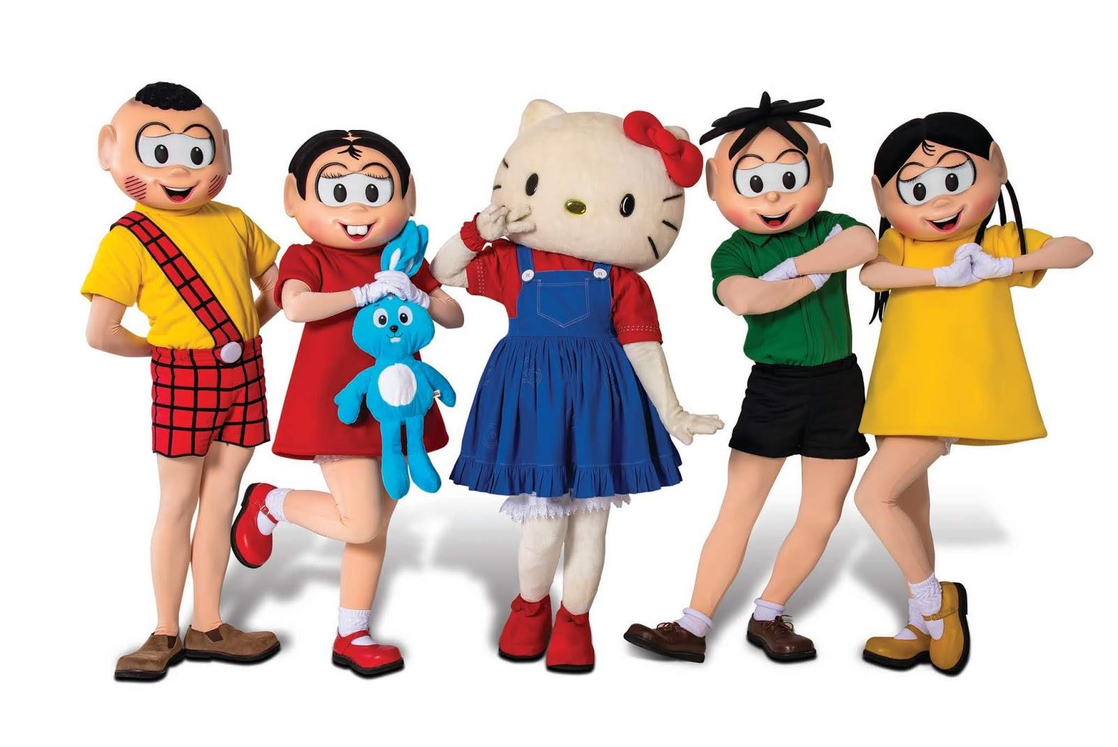 Turma da Mônica e Hello Kitty