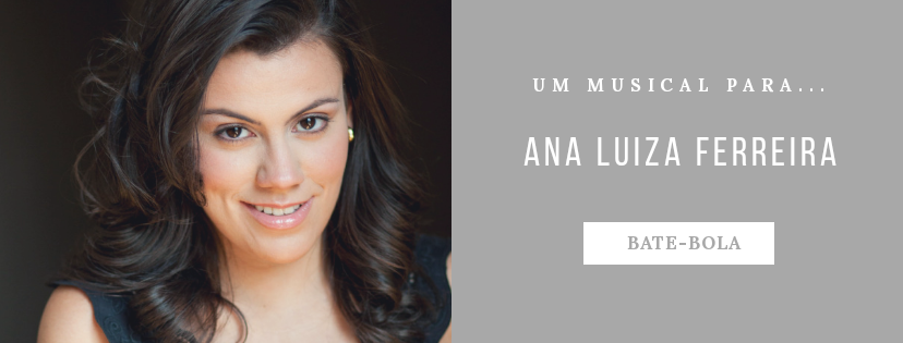 Photo of Um musical para… Ana Luiza Ferreira