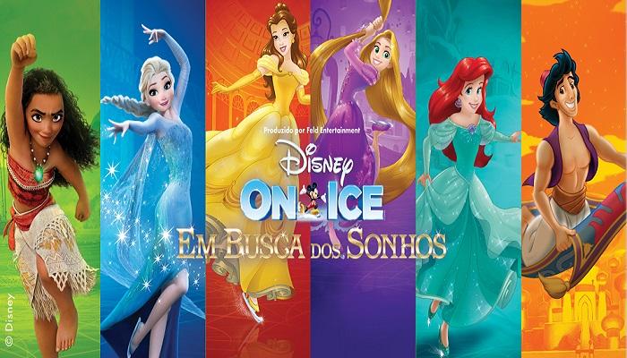 """Photo of Turnê de """"Disney On Ice – Em Busca dos Sonhos"""" chega ao Brasil em maio"""