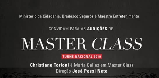 Photo of Peça Master Class, sobre Maria Callas, abre audição para soprano e tenores