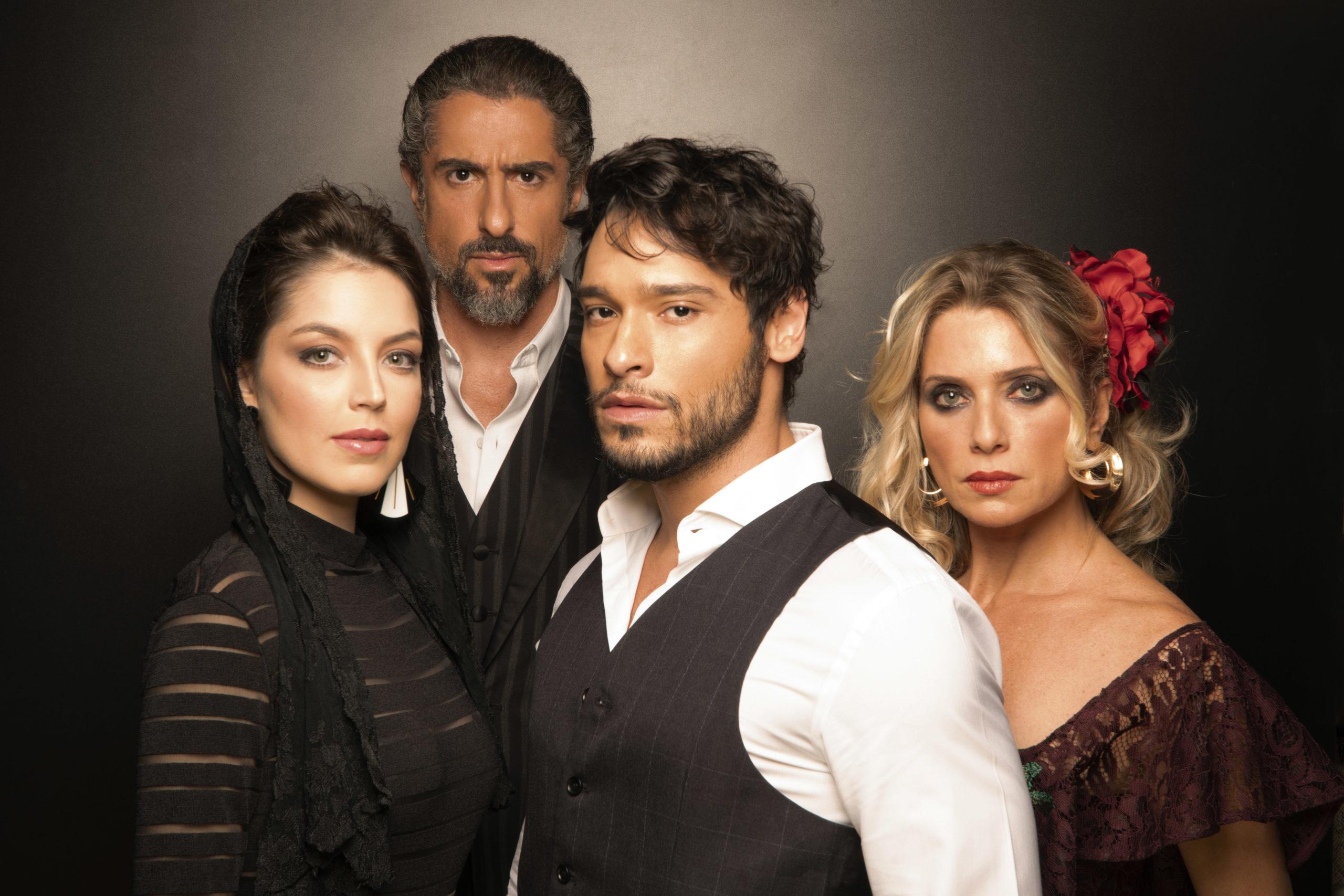 """Photo of Veja as primeiras fotos de caracterização do quarteto protagonista de """"Zorro, Nasce Uma Lenda"""""""