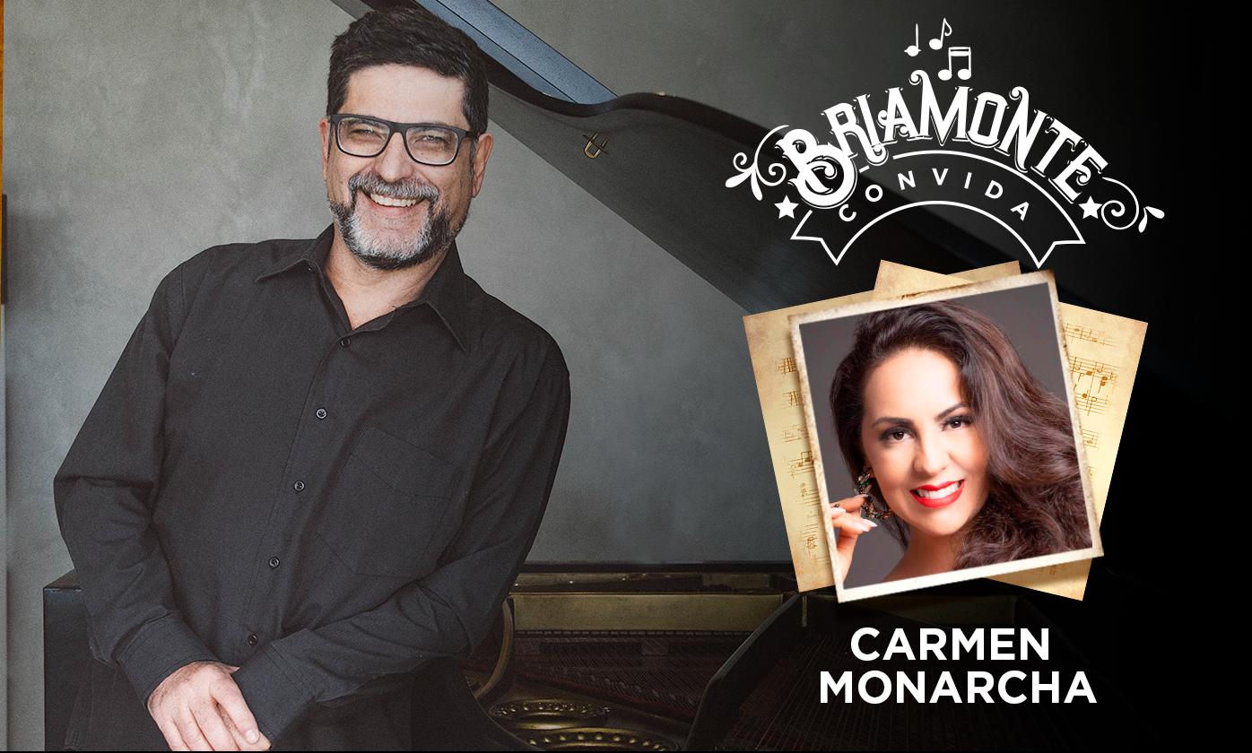 """Photo of Em nova edição, """"Briamonte Convida"""" traz a soprano Carmen Monarcha"""