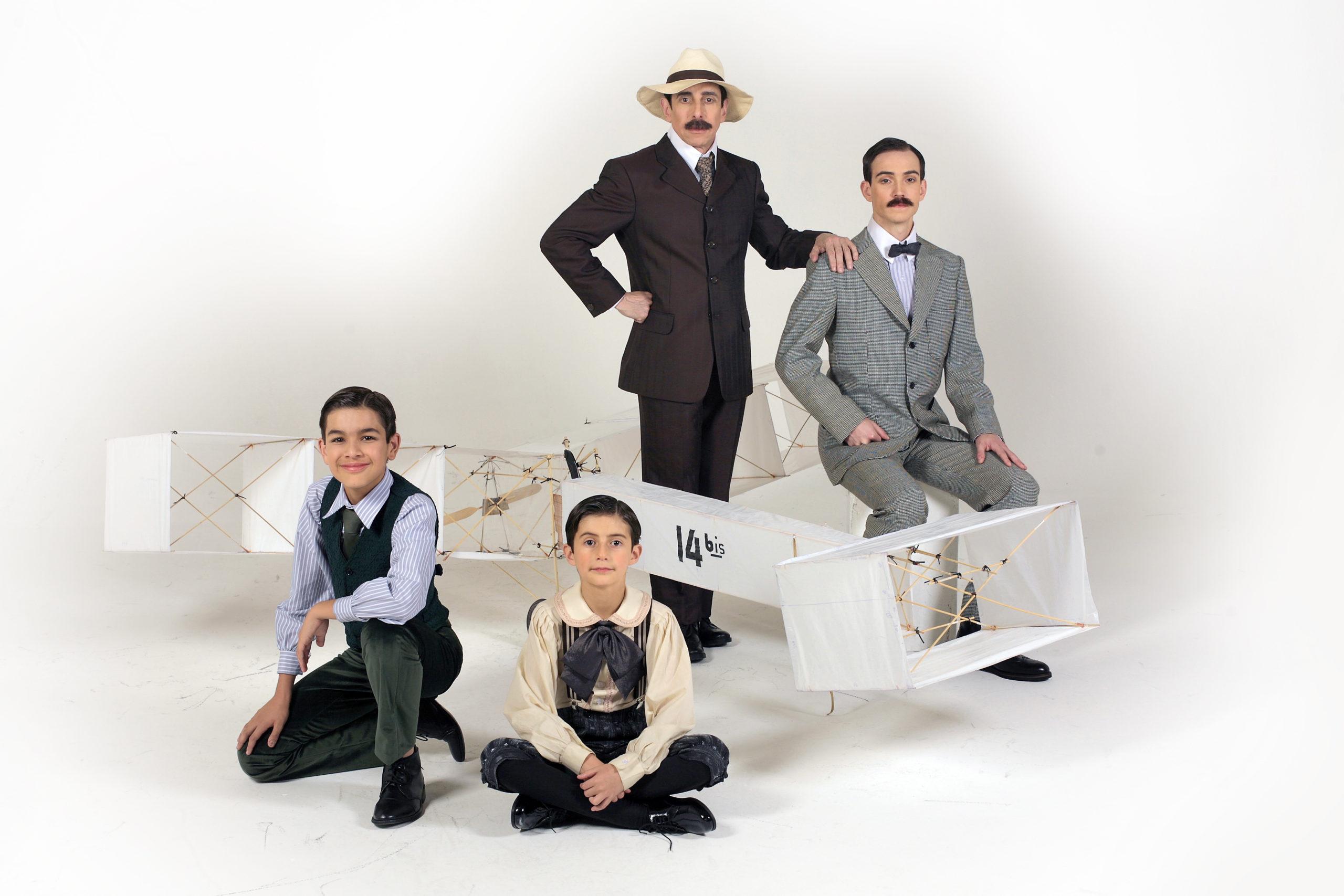 Photo of Vida de Santos Dumont ganha homenagem em novo musical da Fundação Lia Maria Aguiar