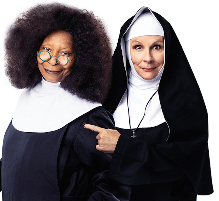 "Photo of Whoopi Goldberg revive protagonista de musical inspirado em ""Mudança de Hábito"""
