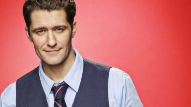 "Photo of Matthew Morrison, de ""Glee"", canta ""Go The Distance"", da animação ""Hércules"""