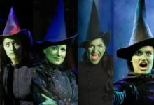 "Photo of Atrizes que viveram Elphaba no musical ""Wicked"" cantam 'Defying Gravity' juntas"