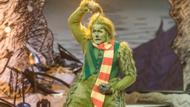 Photo of Matthew Morrison vive o Grinch em musical de Natal na TV